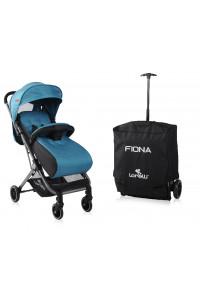 Прогулочная коляска Lorelli Fiona с накидкой на ножки от 0-3 лет
