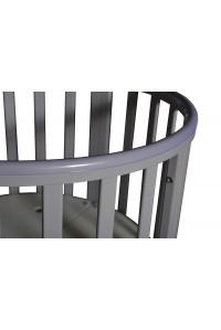 """Детская кроватка """"Sofia 4"""" 6 в 1 , универсальный маятник, колесо. ПВХ накладка!"""