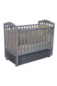 """Кроватка детская  """"Helen 3"""" универсальный маятник (поперечного/продольного качания), закрытый ящик"""