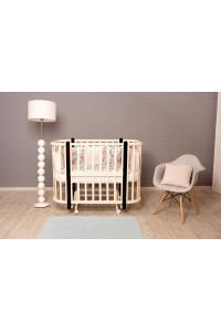 NU Кроватка детская Incanto Nuvola 3 в 1
