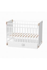 Кроватка детская GRETTA поперечного качания с ящиком