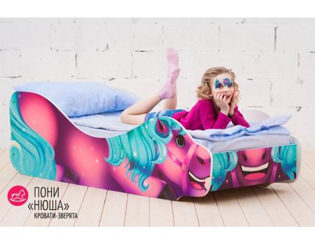 Кровать «Пони - Нюша»