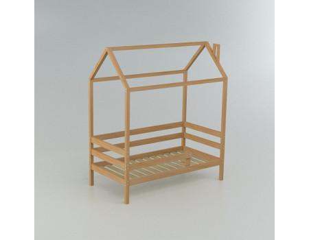 Кровать домик Classic сосна 160*80 натуральная
