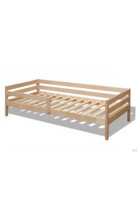 Кровать подростковая из березы «Соня» натуральный цвет 160х80 см