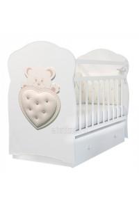 Кровать детская IVORY маятник с ящиком