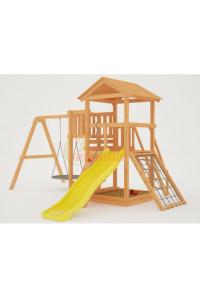 Детская игровая площадка Савушка Мастер - 2 с качелями Гнездо