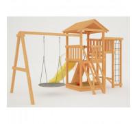 Детская игровая площадка Савушка Мастер - 3с качелями Гнездо