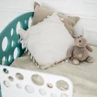 Кровать подростковая Пузыри, массив бука