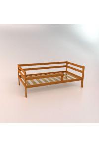 Кровать подростковая из сосны «Соня» натуральный цвет 180х90 см