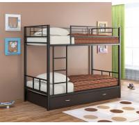 Двухъярусная кровать Севилья - 2  с ящиками