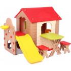 Детская игровая зона с  домиком HN-777