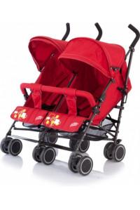 Коляска для двойни City Twin Baby Care