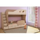 Кровать детская двухъярусная Детка