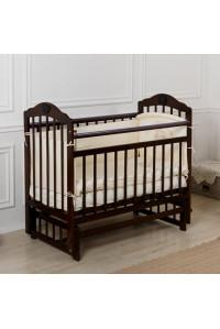 Кровать детская Incanto PALI с мишкой (маятник, опуск.планка)