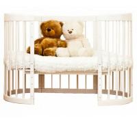 Кроватка-трансформер 8 в 1 Паулина С-322
