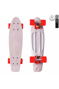 "Скейтборд Y-SCOO Fishskateboard 22"" винил 56,6х15 с сумкой"